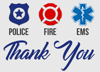 Thanks to First Responders