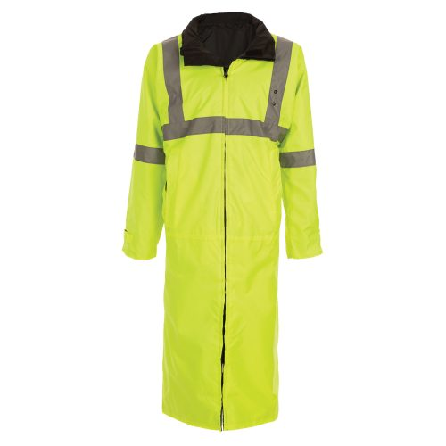 6011 Reversible Raincoat Yellow and Black
