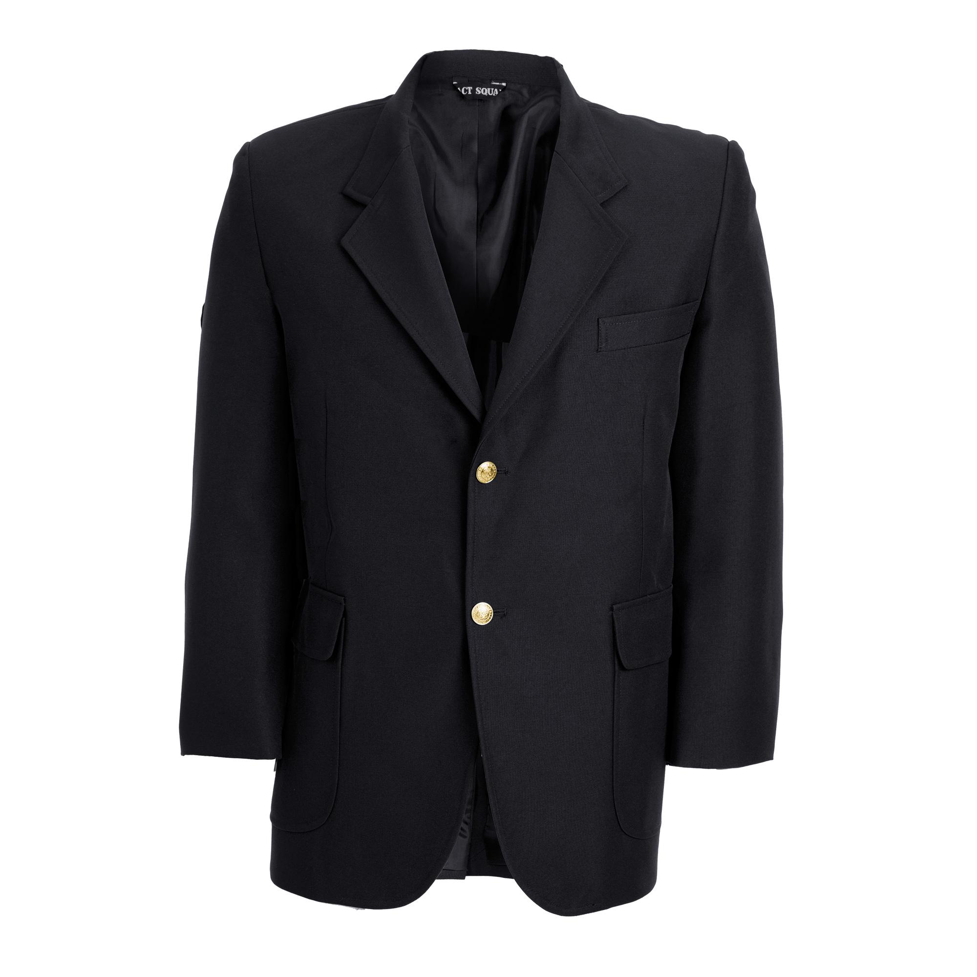 Polyester Blazer Black
